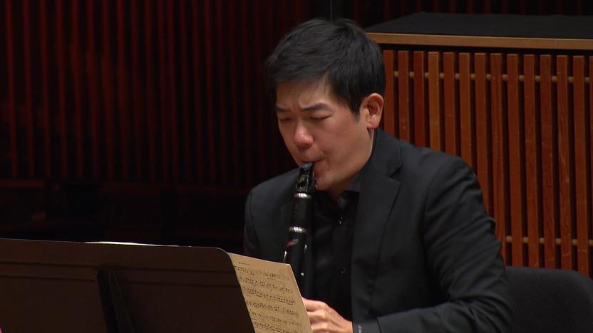 Sang Yoon Kim performs Johannes Brahms' Clarinet Quintet in October 2020