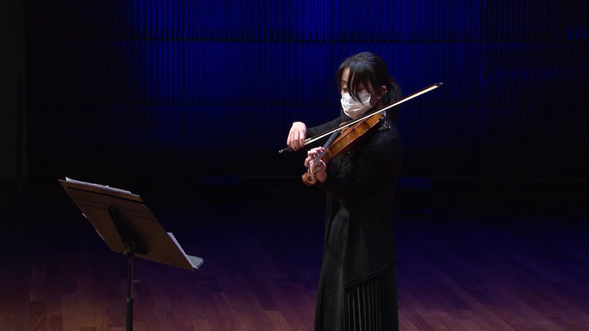 Eunae Koh performs J.S. Bach's Chaconne from Partita No. 2 for Solo Violin